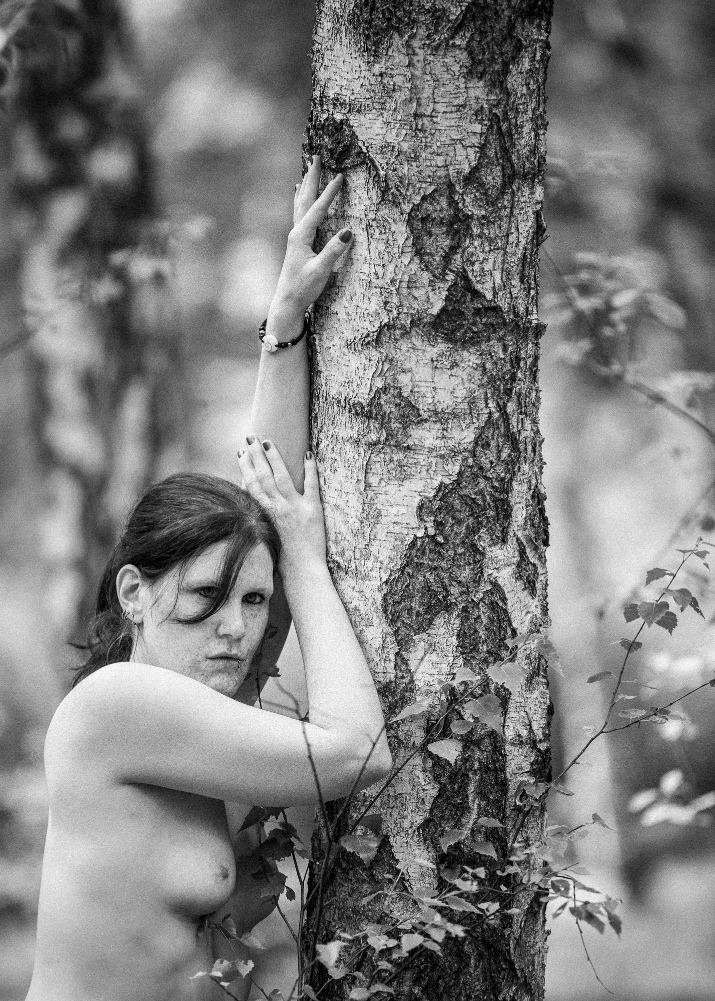 Tanja im Birkenwäldchen