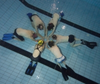 Training beim DLRG
