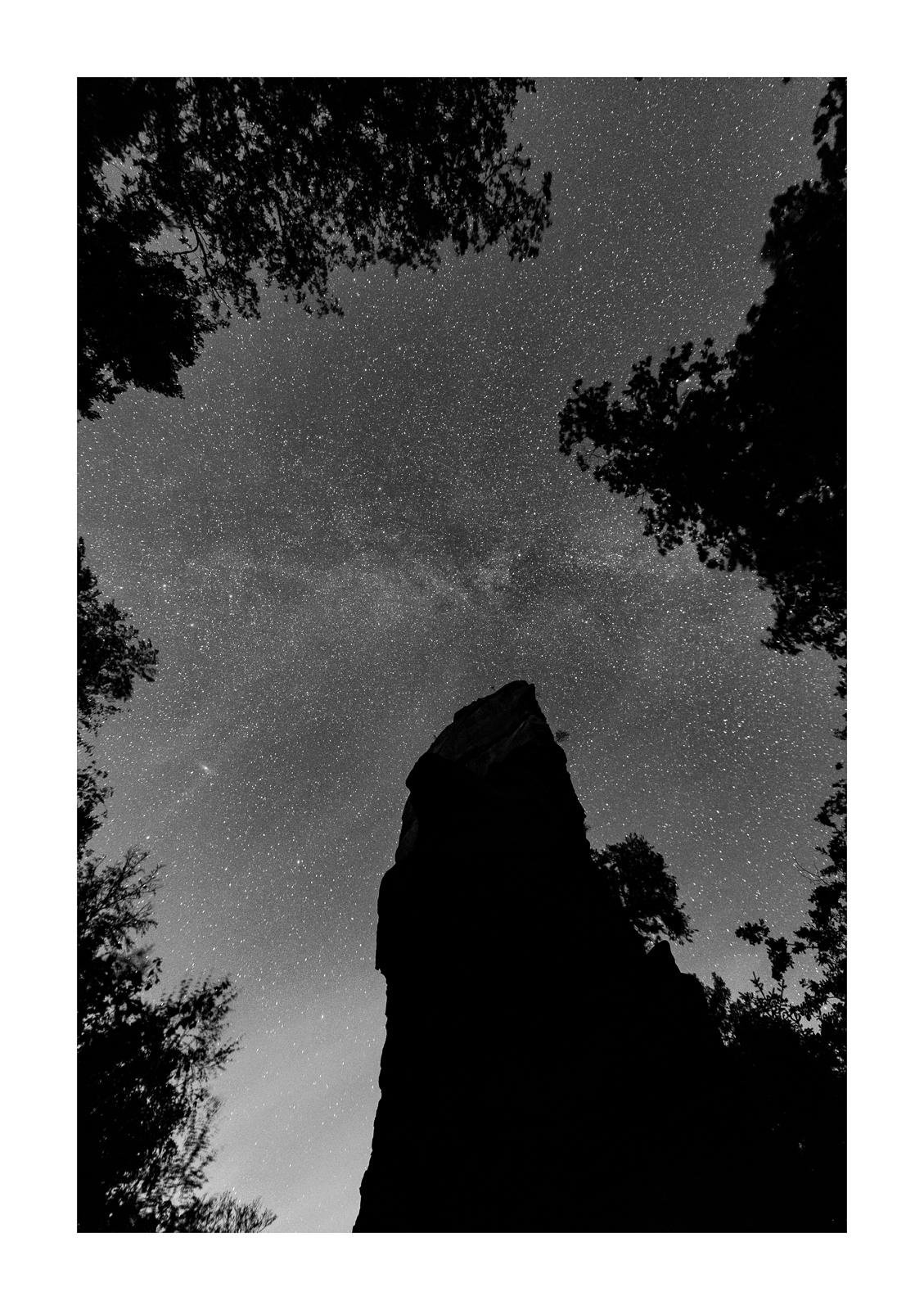 Jungturm bei Nacht