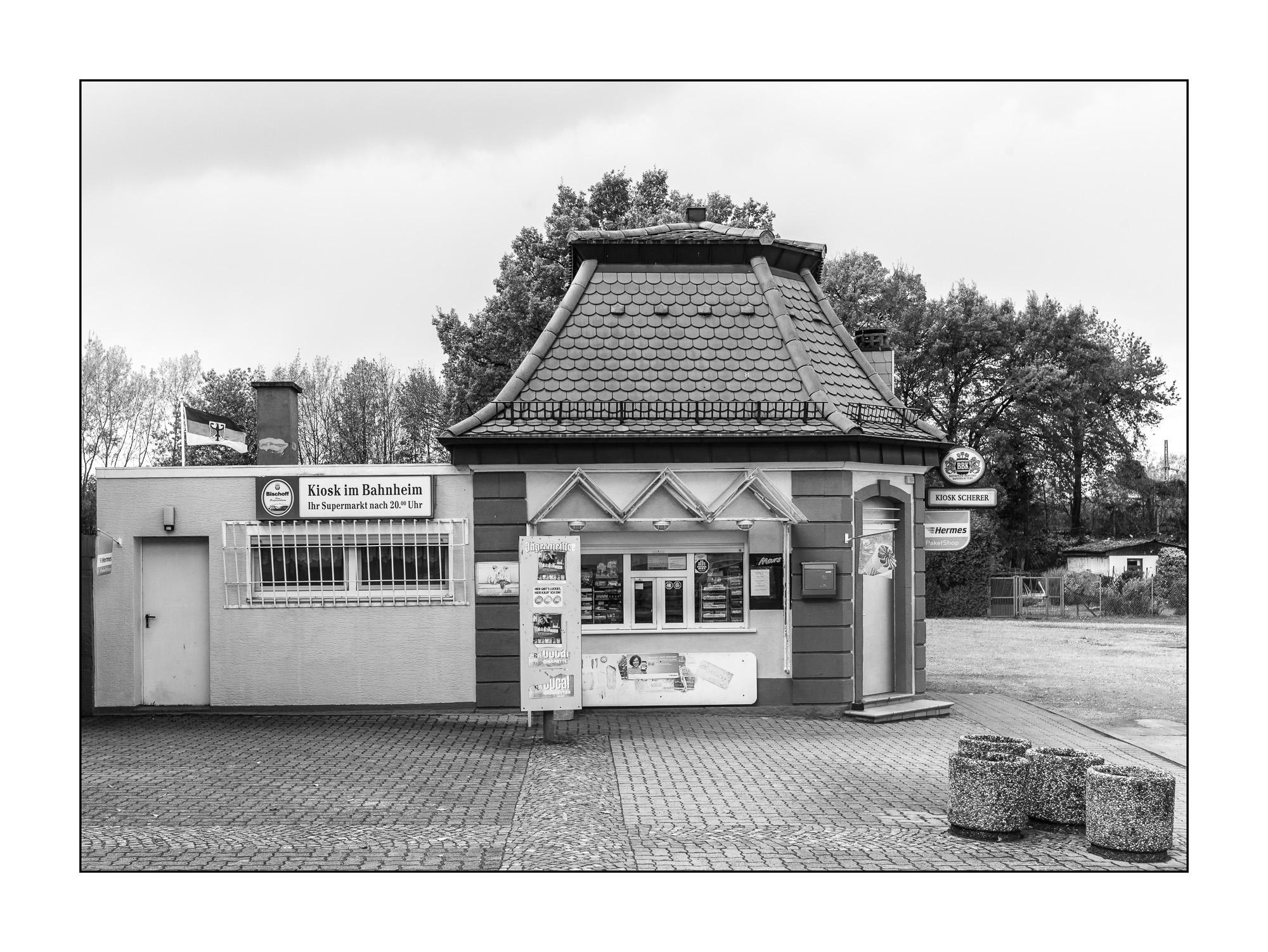 Kiosk im Bahnheim