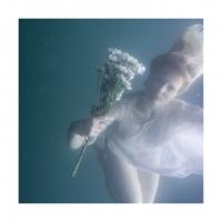 Orphelia, White Dress
