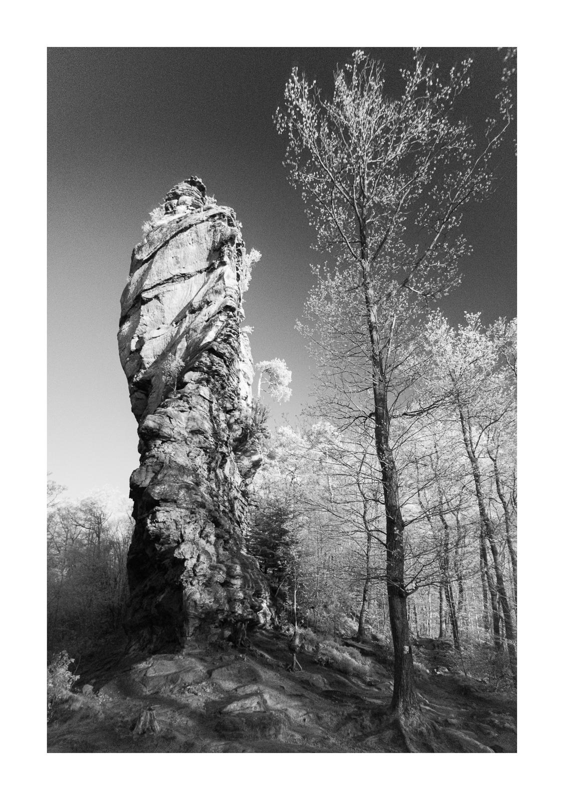 Sandstein, IR