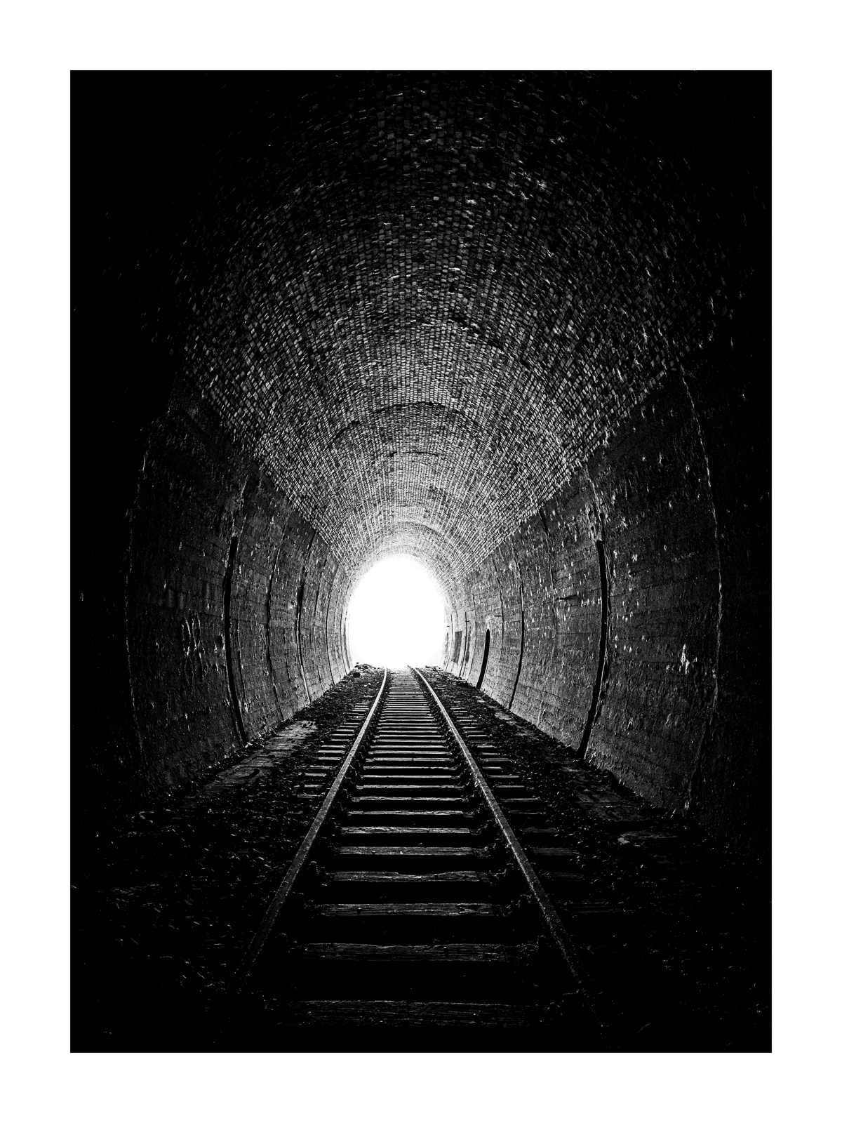 Stempelkopftunnel, Westportal